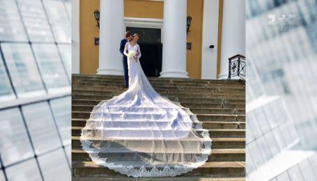 Елена Мусиенко на свадьбе сменила три платья