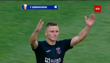 Карпаты - Верес - 0:2. Видео гола Сергийчука
