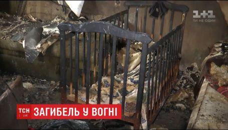 В пожаре в столичной многоэтажке погиб ребенок