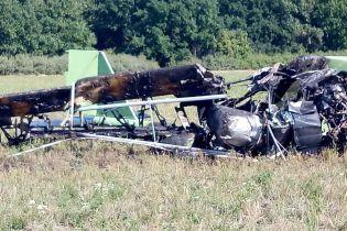 На Харьковщине упал легкомоторный самолет