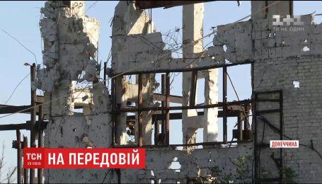 Несмотря на перемирие, боевики обстреливают шахту Бутовка из боевых машин пехоты