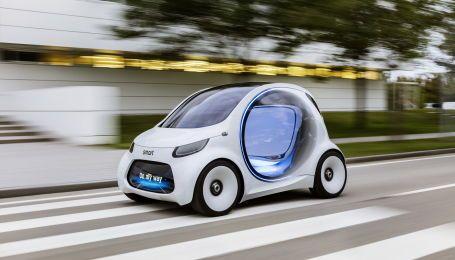 Серед моделей Smart залишаться тільки електрокари