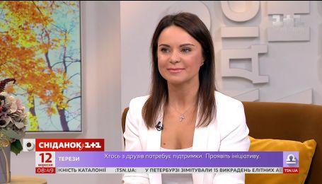 """У студії """"Сніданку"""" легендарна гімнастка Лілія Подкопаєва"""