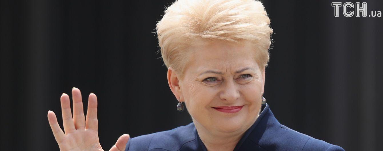 """Грібаускайте підписала литовський """"акт Магнітського"""", який вводить санкції проти росіян"""