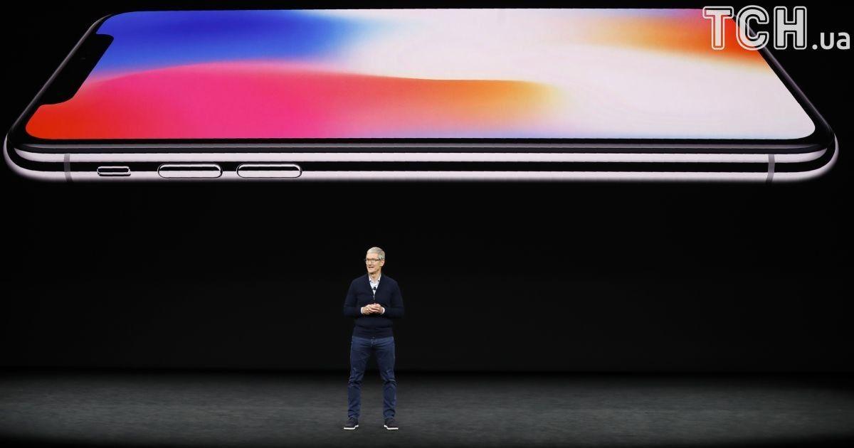 Главная новинка - iPhone 10.