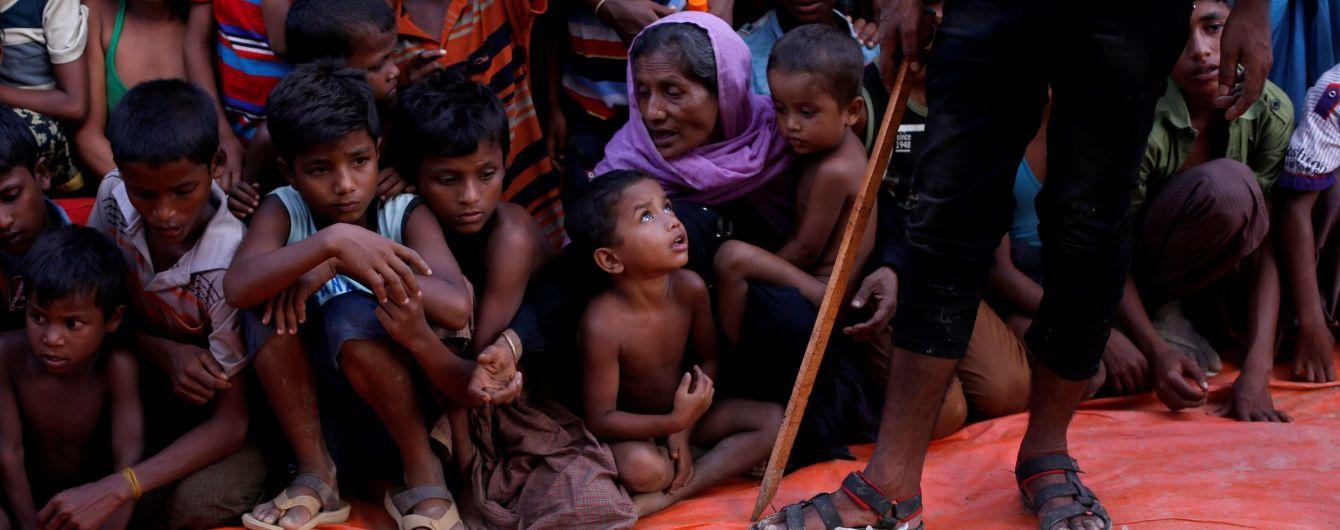 М'янма насильно вигнала півмільйона рохінджа – звіт ООН
