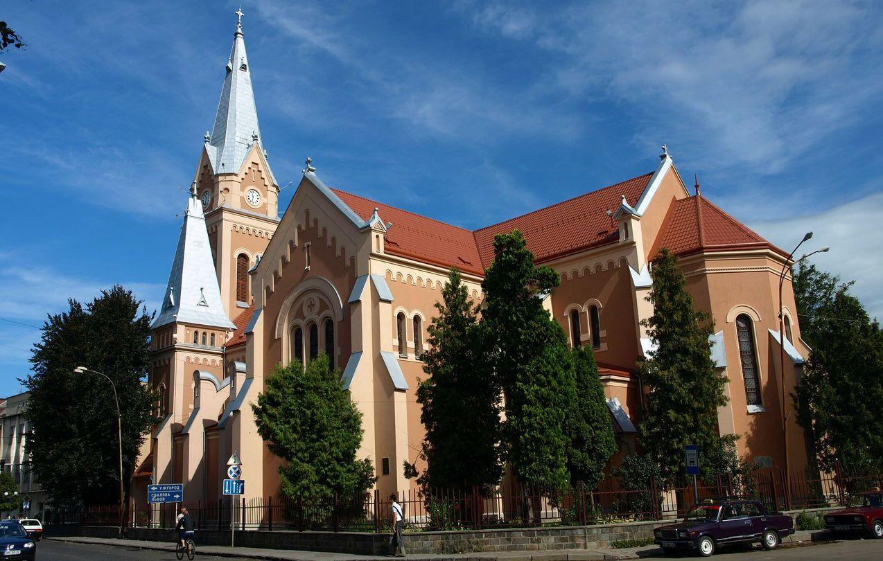 Кафедральний костел святого Мартіна в Мукачево
