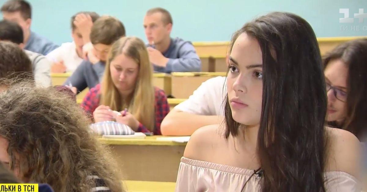 Самая молодая красавица Украины поступила в политех и мечтает о политике