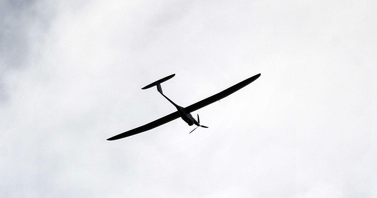 Випробування українського бойового дрону
