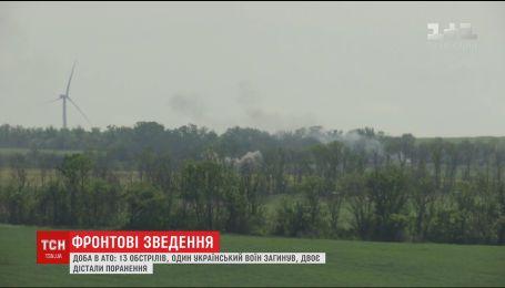 В результаті гранатометного обстрілу у Пісках поранено двох українських бійців