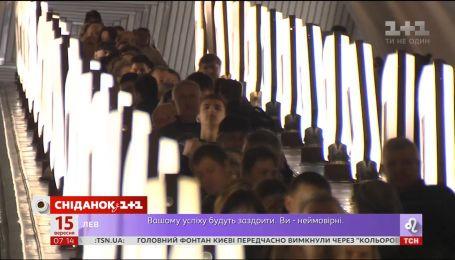 В Киевском метро появятся видеокамеры с системой распознавания лиц