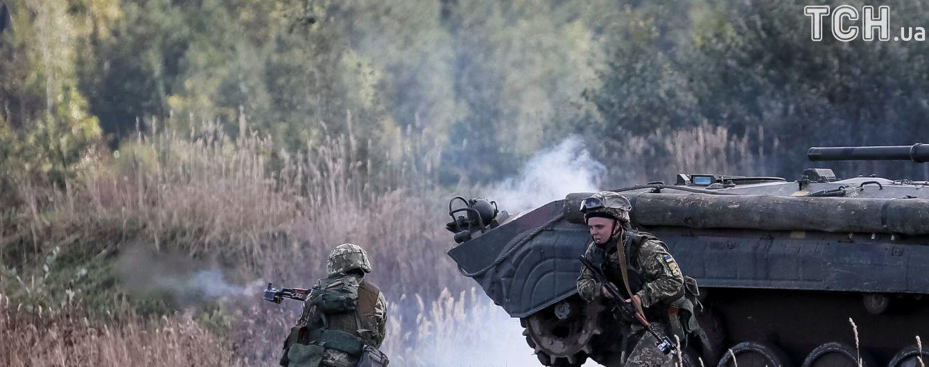 Военные АТО отбили атаку боевиков, которые пытались с гранатометами прорваться в поселок Жованка