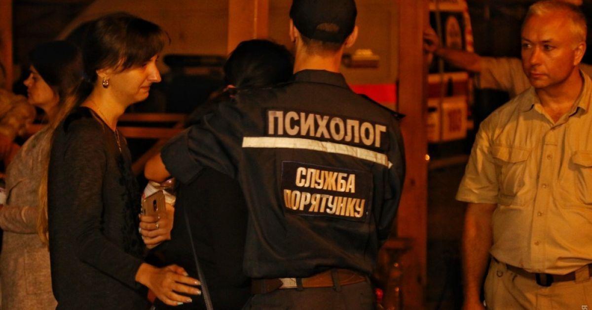 В Нацполиции сообщили предварительные данные о числе погибших во время пожара в детском лагере в Одессе