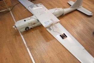 В зоне АТО упал российский беспилотник, который используется для разведки и корректировки огня