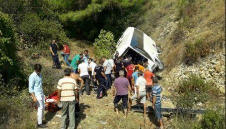 Українці не постраждали у аварії туристичного автобуса у Туреччині
