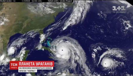 """Планета ураганів: на Америку насуваються два нових шторми """"Хосе"""" та """"Норма"""""""