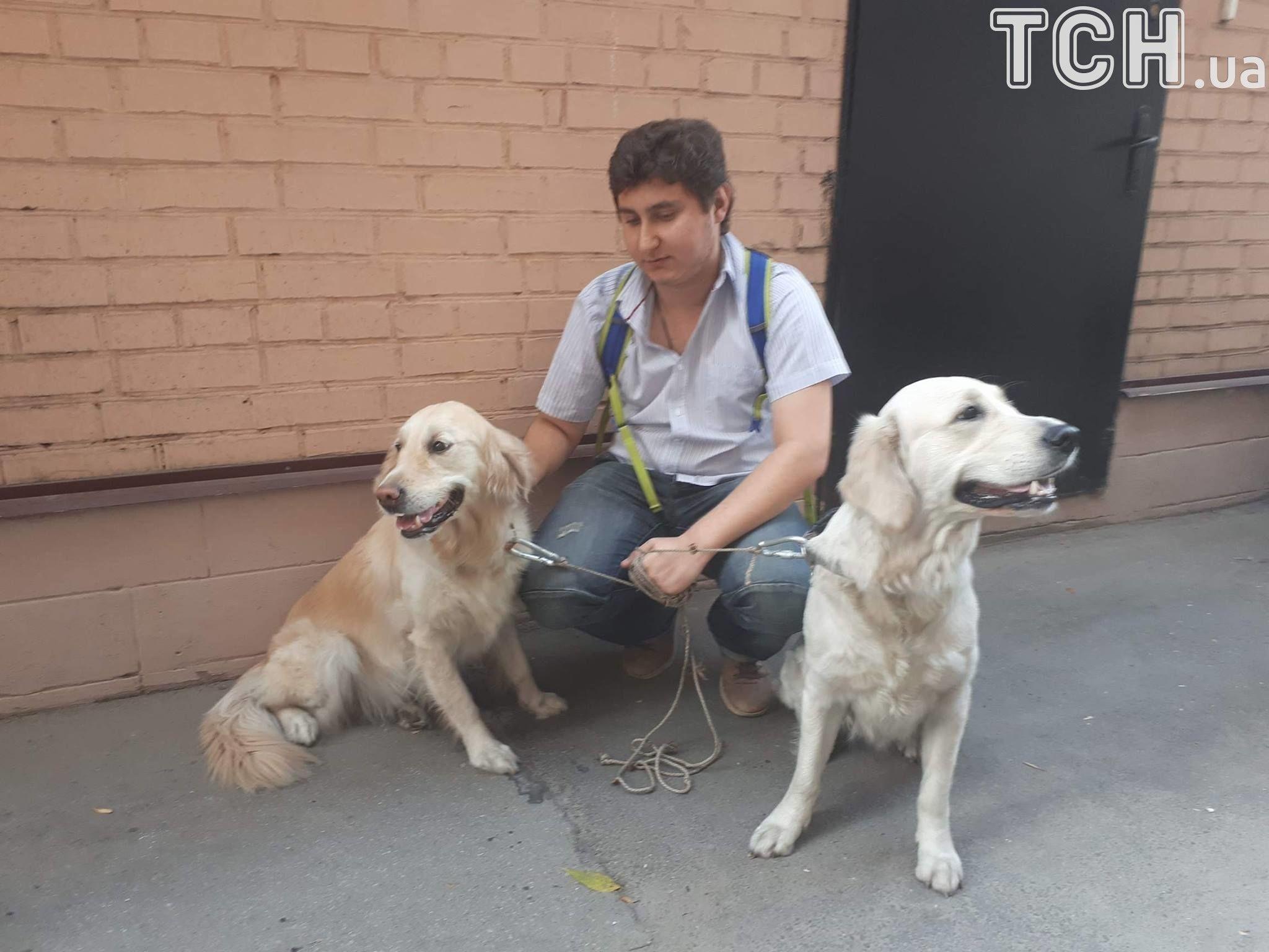 З пожежі врятували двох собак_2