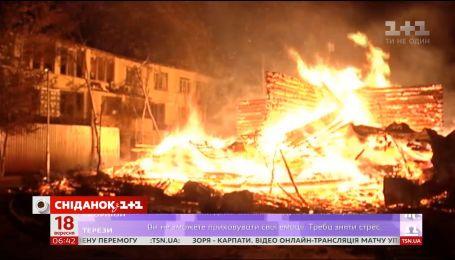 Пожар в детском лагере: хроника событий страшной ночи