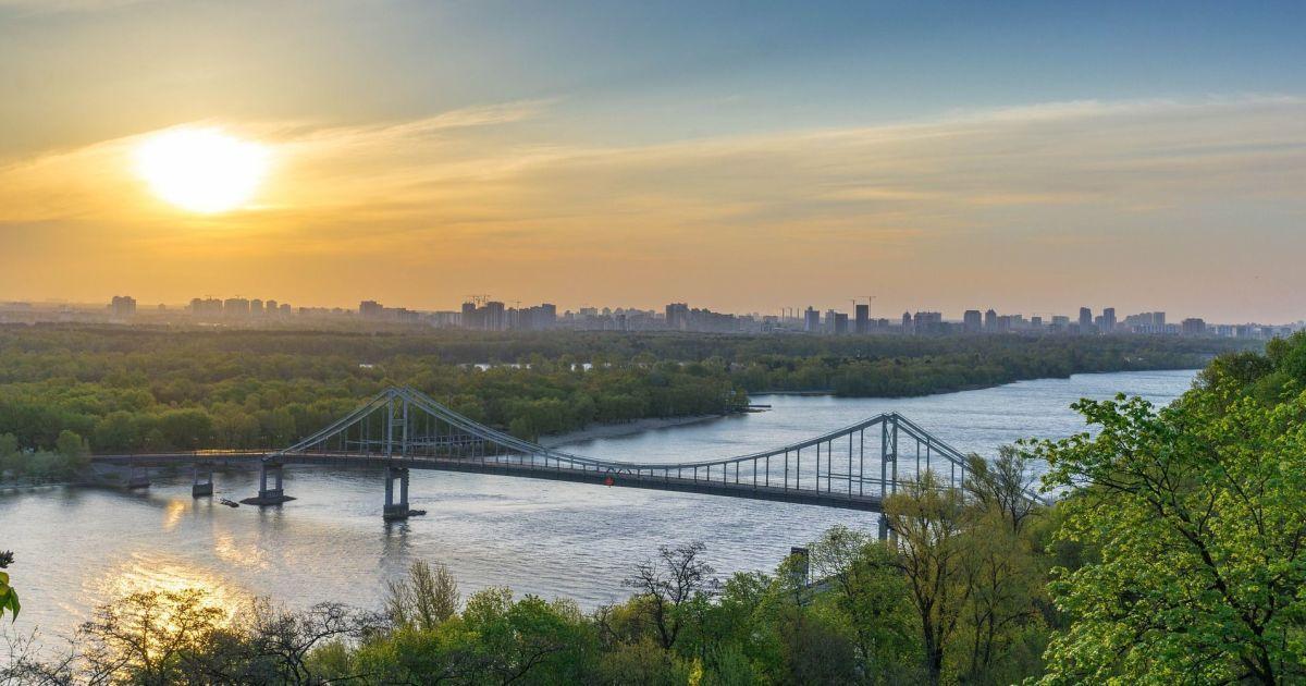 В Киеве зафиксировали температурный рекорд