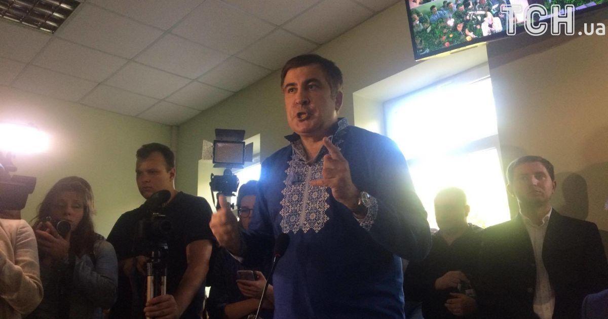 Суд относительно незаконного пересечения границы Саакашвили перенесли