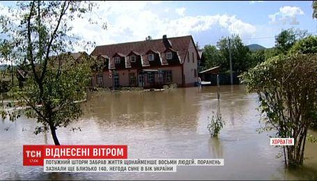 Румунія та Хорватія страждають від негоди