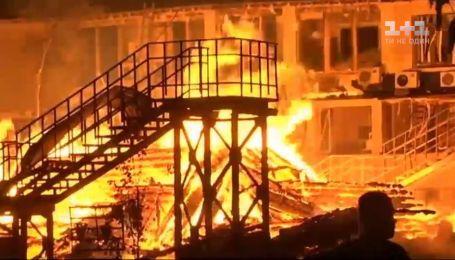 """Кто виноват в пожаре одесского детского лагеря """"Виктория"""""""