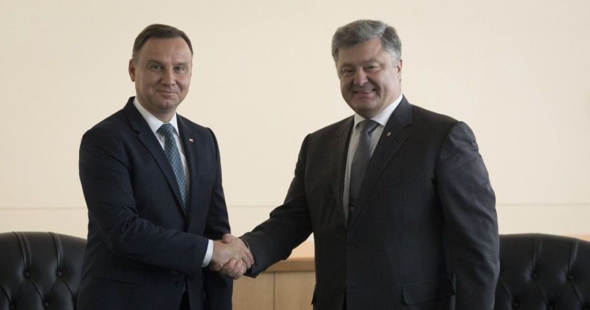 Безопасность и транспограничное сотрудничество: о чем Порошенко с Дудой общались в США