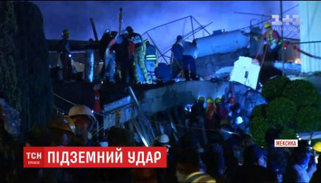 В Мексике сообщают об увеличении количества погибших в результате землетрясения
