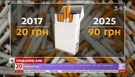 В течение 7-ми лет акцизы на сигареты вырастут в 4 раза - экономические новости