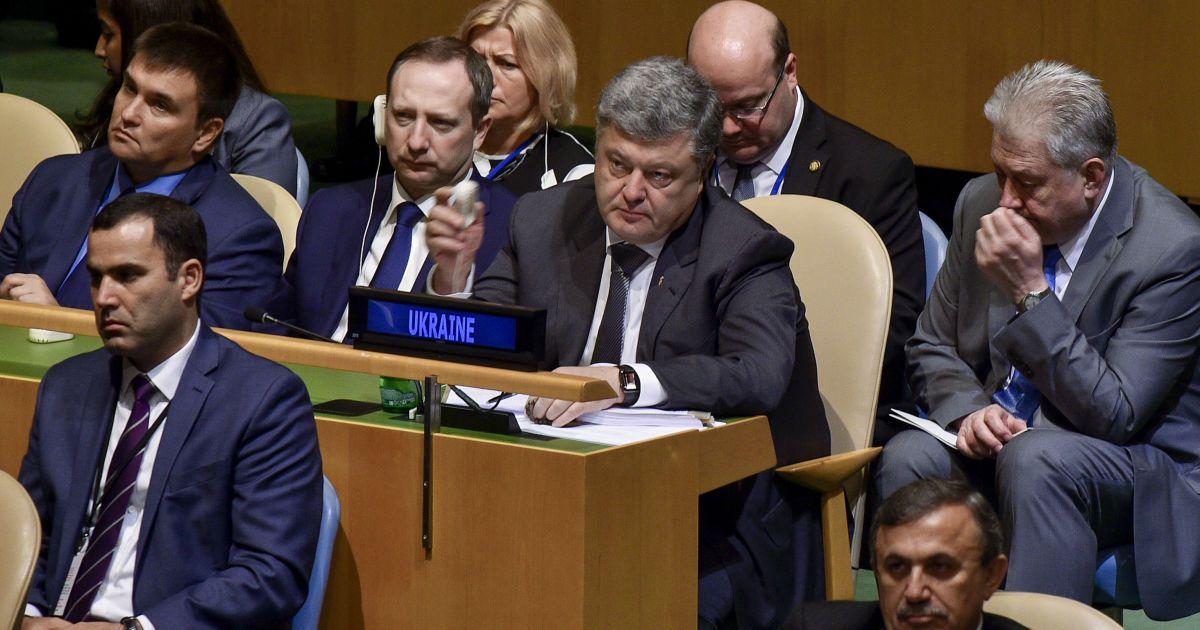 Подробности выступления Порошенко в ООН и освобождение скандальной Штепы из СИЗО. Пять новостей, которые вы могли проспать