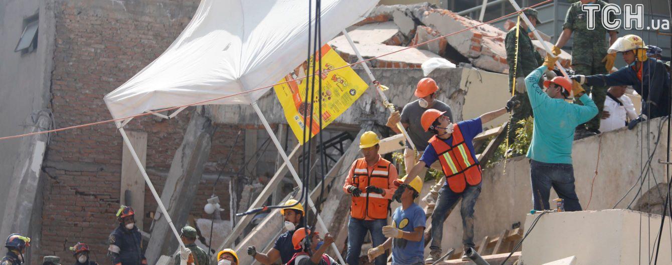 Количество жертв землетрясения в Мексике увеличилось до 360