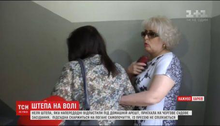 Одиозная экс-мэр Славянска Неля Штепа снова в суде