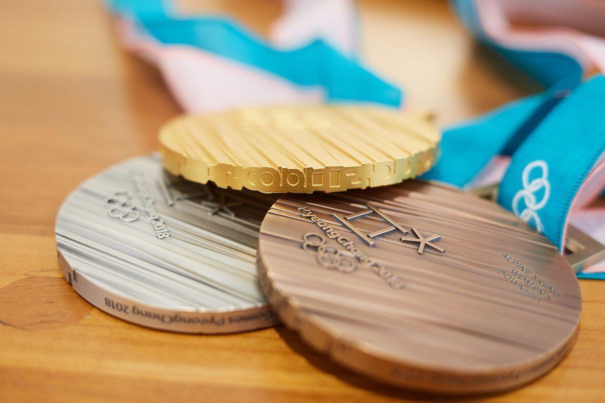 медалі оі-2018