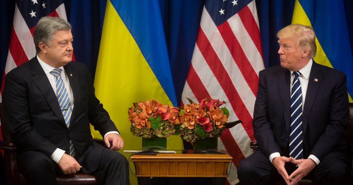 Стали известны подробности переговоров Порошенко и Трампа