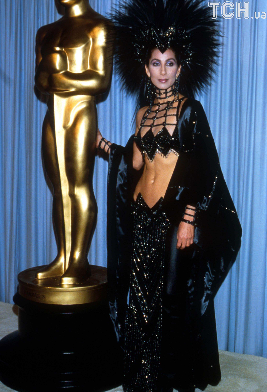 "Шер на ""Оскарі"" 1986 рік"