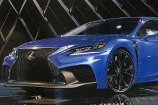 """В Сети появилось изображение """"заряженного"""" седана Lexus LS F"""
