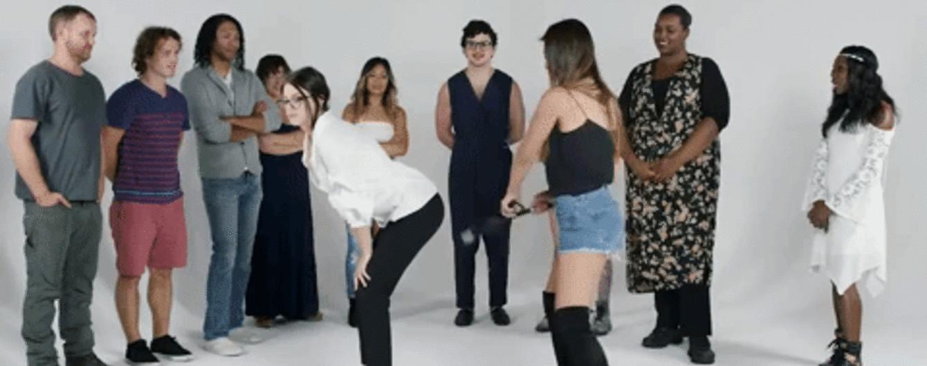 извиняюсь, но, кастинг голых париж женщин про вульгарную крошку