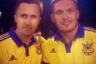 Боксер Усик дебютував за збірну України з футболу