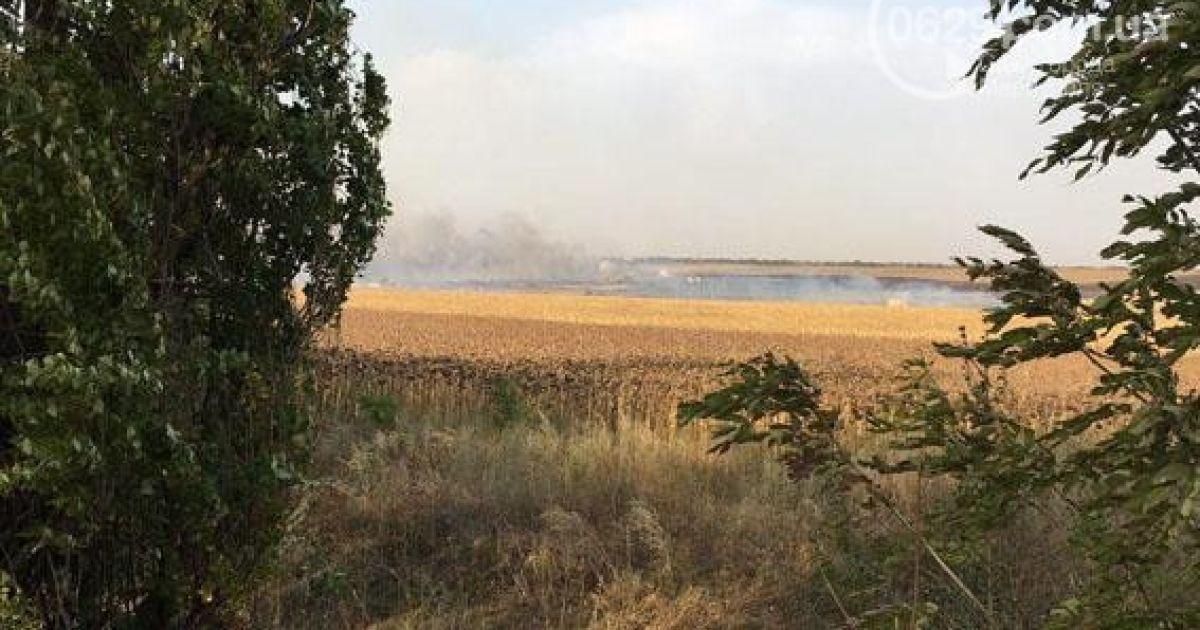 Неподалеку Мариуполя прогремели взрывы на складе боеприпасов
