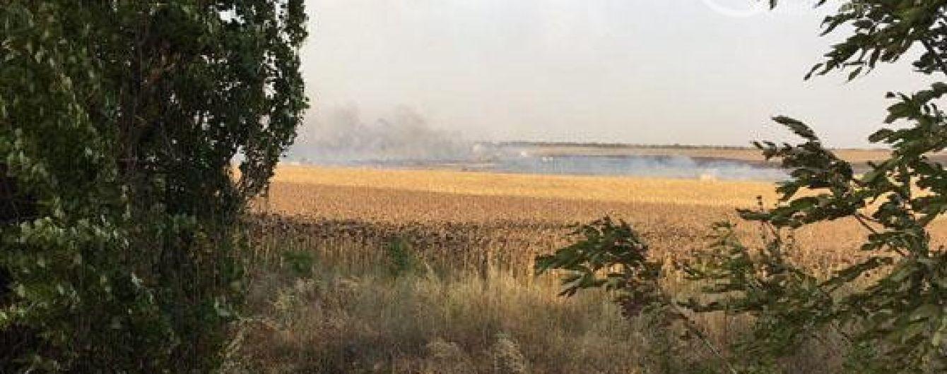 Пожар на военном складе на Донетчине: село отключили от газа