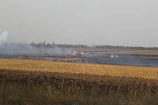 Пожар на складе боеприпасов на Донетчине полностью ликвидировали