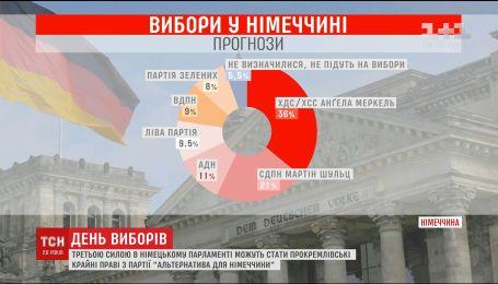 Завтра более 60 миллионов немцев будут выбирать новый парламент