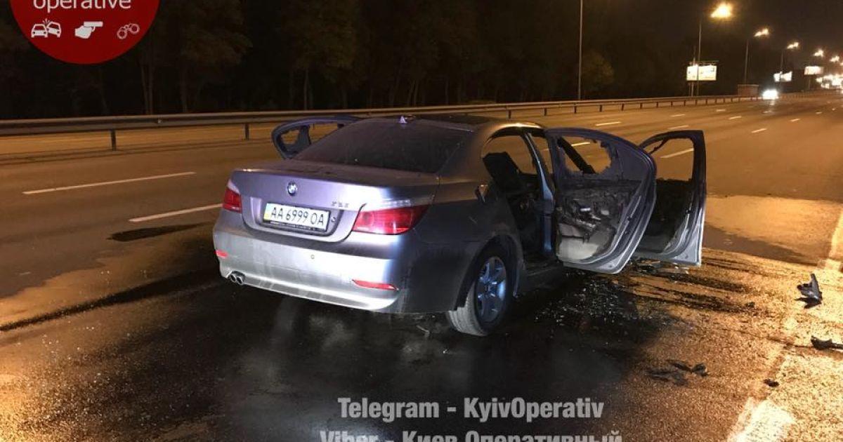 В столице до сих пор ищут водителя БМВ, который после смертельного ДТП скрылся с места происшествия