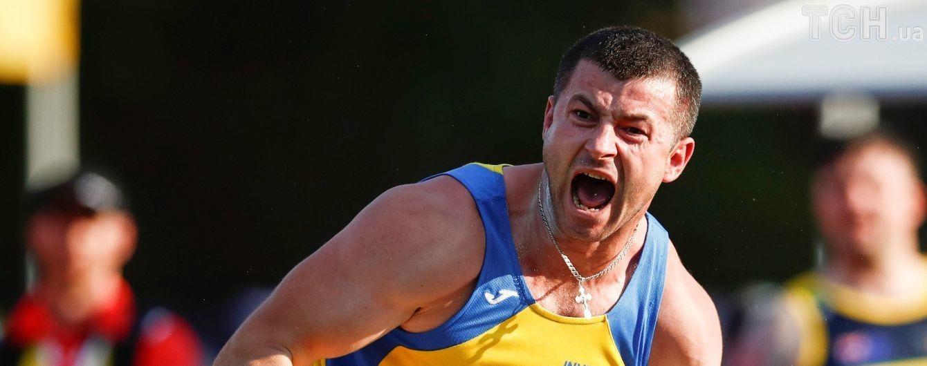 "Українець виборов першу медаль на ""Іграх нескорених"""