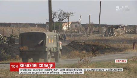 Военные назвали причину взрыва на складе боеприпасов возле Новоянисоля