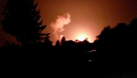 Украерорух закрив повітряний простір в радіусі 50 км від епіцентру вибухів на Вінничині