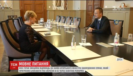 Українське МЗС сподівається на конструктивний діалог з Угорщиною
