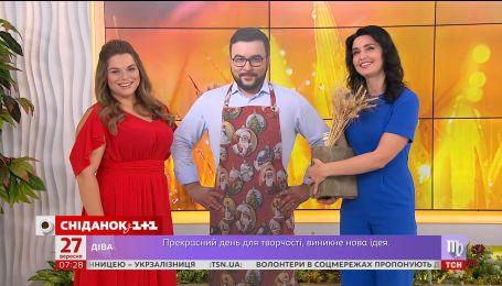 """""""Сніданок з 1+1"""" поздравляет Руслана Сеничкина с днем рождения"""