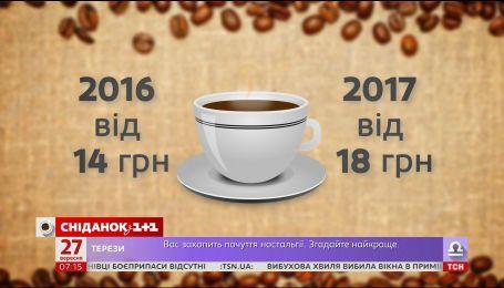 Пить кофе и ездить на такси в Украине стало дороже