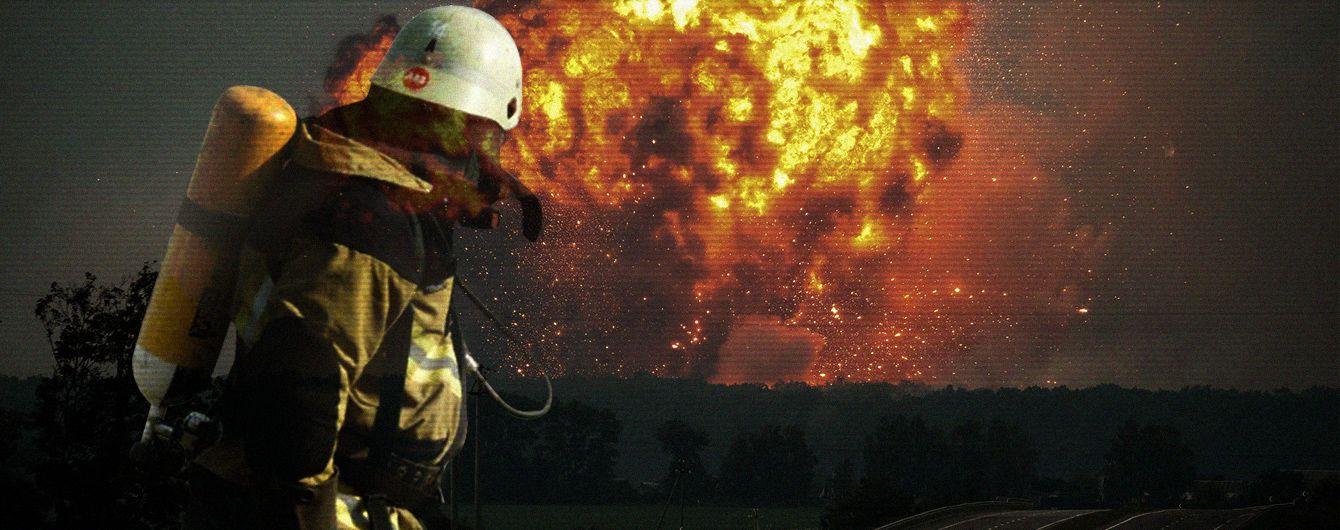 Кому выгодны взрывы на складах боеприпасов